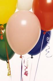 ankara Gölbaşı çiçek mağazası , çiçekçi adresleri  19 adet renklis latex uçan balon buketi
