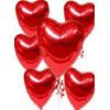 Ankara Gölbaşı çiçek siparişi vermek  17 adet FOLYO kalp görünümünde uçan balon