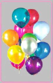 Gölbaşı ankara çiçek gönderme sitemiz güvenlidir  15 adet karisik renkte balonlar uçan balon