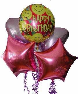 Çiçek yolla Gölbaşı internetten çiçek satışı  11 adet renkli uçan balon hediye ürünü