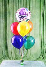 Ankara çiçekçiler Gölbaşı online çiçek gönderme sipariş  18 adet renkli uçan balon hediye ürünü balon