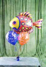 Gölbaşı ankara çiçek gönderme sitemiz güvenlidir  9 adet uçan balon renkli oyuncak balonlar