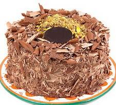 çikolatali 4 ile 6 kisilik yas pasta  Çiçekçi Gölbaşı çiçekçi mağazası