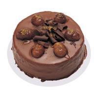 Kestaneli çikolatali yas pasta  Gölbaşı çiçek online çiçek siparişi