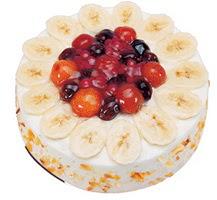 Meyvali 4 ile 6 kisilik yas pasta leziz  Gölbaşı ankara çiçek servisi , çiçekçi adresleri