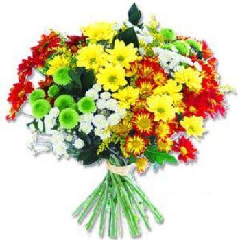 Kir çiçeklerinden buket modeli  Gölbaşı ankara çiçek gönderme sitemiz güvenlidir