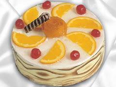 lezzetli pasta satisi 4 ile 6 kisilik yas pasta portakalli pasta  Gölbaşı çiçek kaliteli taze ve ucuz çiçekler