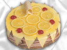 taze pastaci 4 ile 6 kisilik yas pasta limonlu yaspasta  Gölbaşı ankara çiçek gönderme sitemiz güvenlidir
