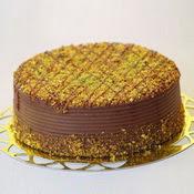 sanatsal pastaci 4 ile 6 kisilik krokan çikolatali yas pasta  Gölbaşı Ankara çiçek yolla