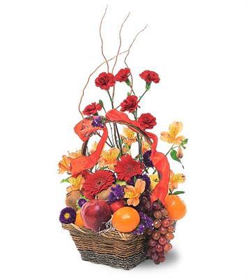 Özel Meyva sepeti ve çiçekler sevdiklerinizi simartin  Gölbaşı çiçek yolla , çiçek gönder , çiçekçi