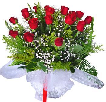 11 adet gösterisli kirmizi gül buketi  Gölbaşı çiçek siparişi yurtiçi ve yurtdışı çiçek siparişi