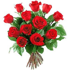 11 adet bakara kirmizi gül buketi  çiçek siparişi Gölbaşı çiçekçiler