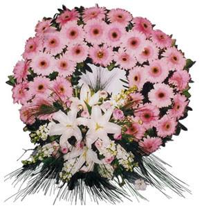 Cenaze çelengi cenaze çiçekleri  Ankara çiçekçi Gölbaşı İnternetten çiçek siparişi