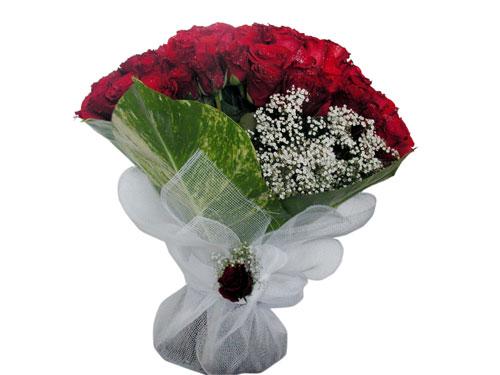 25 adet kirmizi gül görsel çiçek modeli  Çiçekçi Gölbaşı çiçekçi mağazası
