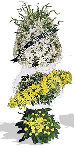 Dügün nikah açilis çiçekleri sepet modeli  Gölbaşı çiçek online çiçek siparişi