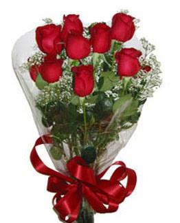 Çiçek sade gül buketi 7 güllü buket  Gölbaşı ankara çiçek gönderme sitemiz güvenlidir