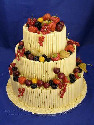 3 katli meyvali pasta online pasta siparisi  Gölbaşı çiçekçi güvenli kaliteli hızlı çiçek