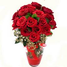 Gölbaşı çiçekçi güvenli kaliteli hızlı çiçek   9 adet kirmizi gül