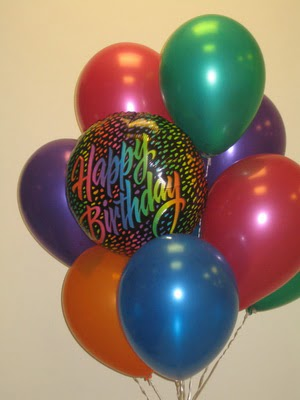 dogum günü parti uçan balonlari