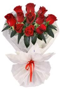 11 adet gül buketi  Gölbaşı çiçek yolla , çiçek gönder , çiçekçi   kirmizi gül