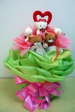 11 adet hediye ayicik bear demeti  Gölbaşı çiçek siparişi yurtiçi ve yurtdışı çiçek siparişi