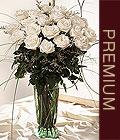 Çiçek yolla Gölbaşı internetten çiçek satışı  Beyaz güllerden vazo tanzim