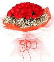 Gölbaşı ucuz çiçek gönder  21 adet askin kirmizi gül buketi