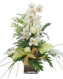 Gölbaşı çiçekçiler  çiçek siparişi sitesi  cam vazo içerisinde 1 dal orkide çiçegi
