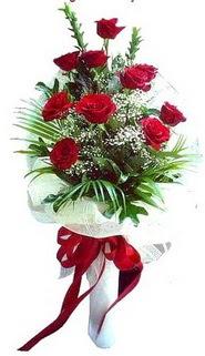 Gölbaşı ankara çiçek servisi , çiçekçi adresleri  10 adet kirmizi gül buketi demeti
