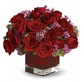 11 adet kırmızı gül vazosu  Gölbaşı çiçek yolla online çiçekçi , çiçek siparişi