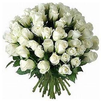 Çiçekçi Gölbaşı çiçekçi mağazası  33 adet beyaz gül buketi