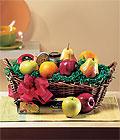 Ankaradaki çiçekçiler Gölbaşı cicek , cicekci  Sevgi meyvalari hediye sepeti