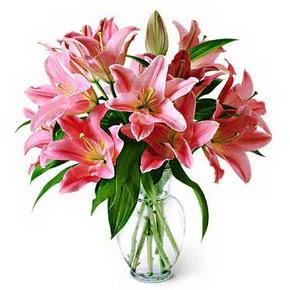 3 dal kazablanka görsel vazosu  Gölbaşı çiçek yolla , çiçek gönder , çiçekçi
