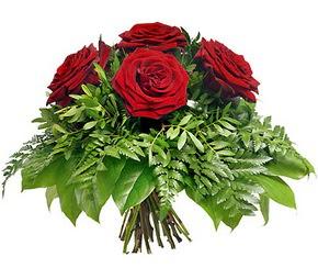 Gölbaşı çiçekçiler  çiçek siparişi sitesi  5 adet kırmızı gülden buket
