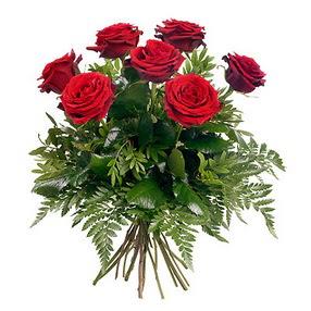 Gölbaşı ankara çiçek gönderme sitemiz güvenlidir  7 adet kırmızı gülden buket