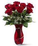 8 adet kırmızı gül sevgilime hediye  Ankaradaki çiçekçiler Gölbaşı cicek , cicekci