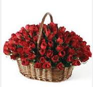 Gölbaşı Ankara çiçek yolla  49 adet kırmızı gül çiçek sepeti