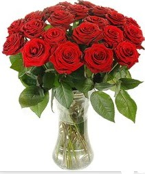 Gölbaşı çiçekçiler  çiçek siparişi sitesi  Vazoda 15 adet kırmızı gül tanzimi
