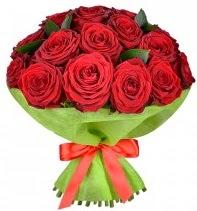 11 adet kırmızı gül buketi  Ankara Gölbaşı çiçek gönderme