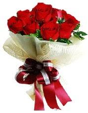 Görsel 12 adet kırmızı gül buketi  Gölbaşı ankara çiçek gönderme sitemiz güvenlidir