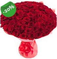 Özel mi Özel buket 101 adet kırmızı gül  Gölbaşına çiçek , çiçekçi , çiçekçilik