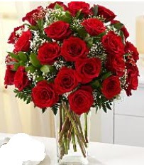 Vazo içerisinde 33 adet kırmızı gül  Gölbaşı Ankara çiçek yolla