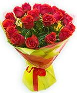 19 Adet kırmızı gül buketi  Ankara çiçekçi Gölbaşı İnternetten çiçek siparişi