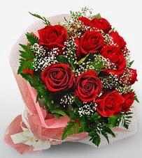 12 adet kırmızı güllerden kaliteli gül  Ankara çiçekçi Gölbaşı İnternetten çiçek siparişi