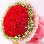 101 adet kırmızı gülden buket  Gölbaşı Ankara çiçek yolla