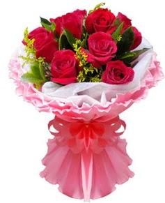 11 adet kırmızı gül buketi  Gölbaşı çiçek gönder cicekciler , cicek siparisi