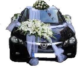 Gölbaşı ankara çiçek servisi , çiçekçi adresleri  Çift çiçekli sünnet düğün ve gelin arabası süsleme