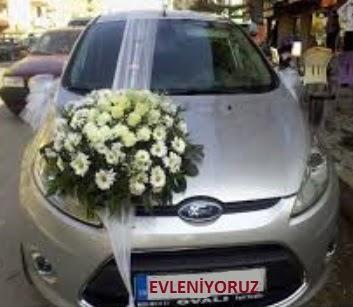 Gölbaşı ankara çiçek servisi , çiçekçi adresleri  Gelin arabası süslemesi