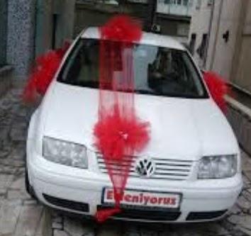 Gölbaşı ankara çiçek servisi , çiçekçi adresleri  çiçeksiz gelin arabası süslemesi