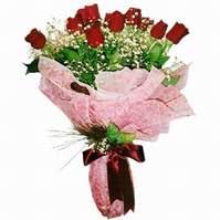 Gölbaşı çiçekçi güvenli kaliteli hızlı çiçek  12 adet kirmizi kalite gül